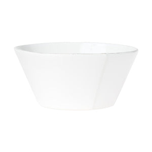 Vietri - Lastra White Large Stacking Serving Bowl