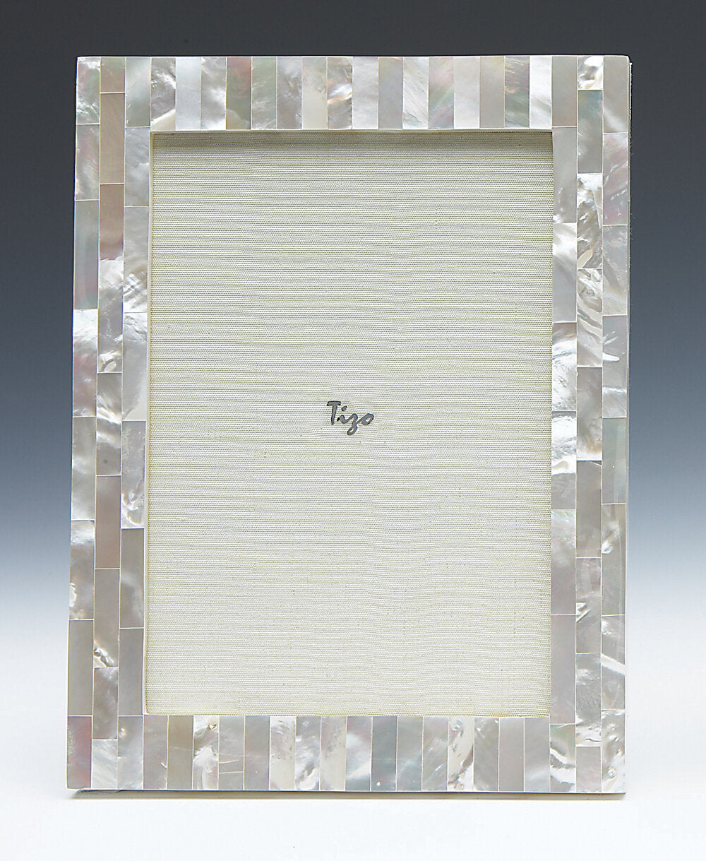 Tizo - Mother of Pearl Picture Frame - White