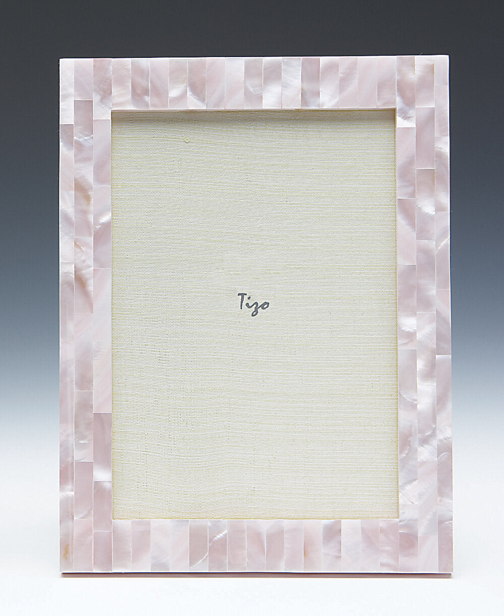 Tizo - Mother of Pearl Picture Frame - Pink