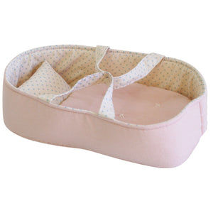 Alimrose - Playtime Doll Carrier Set 30cm - Pale Pink & Spot