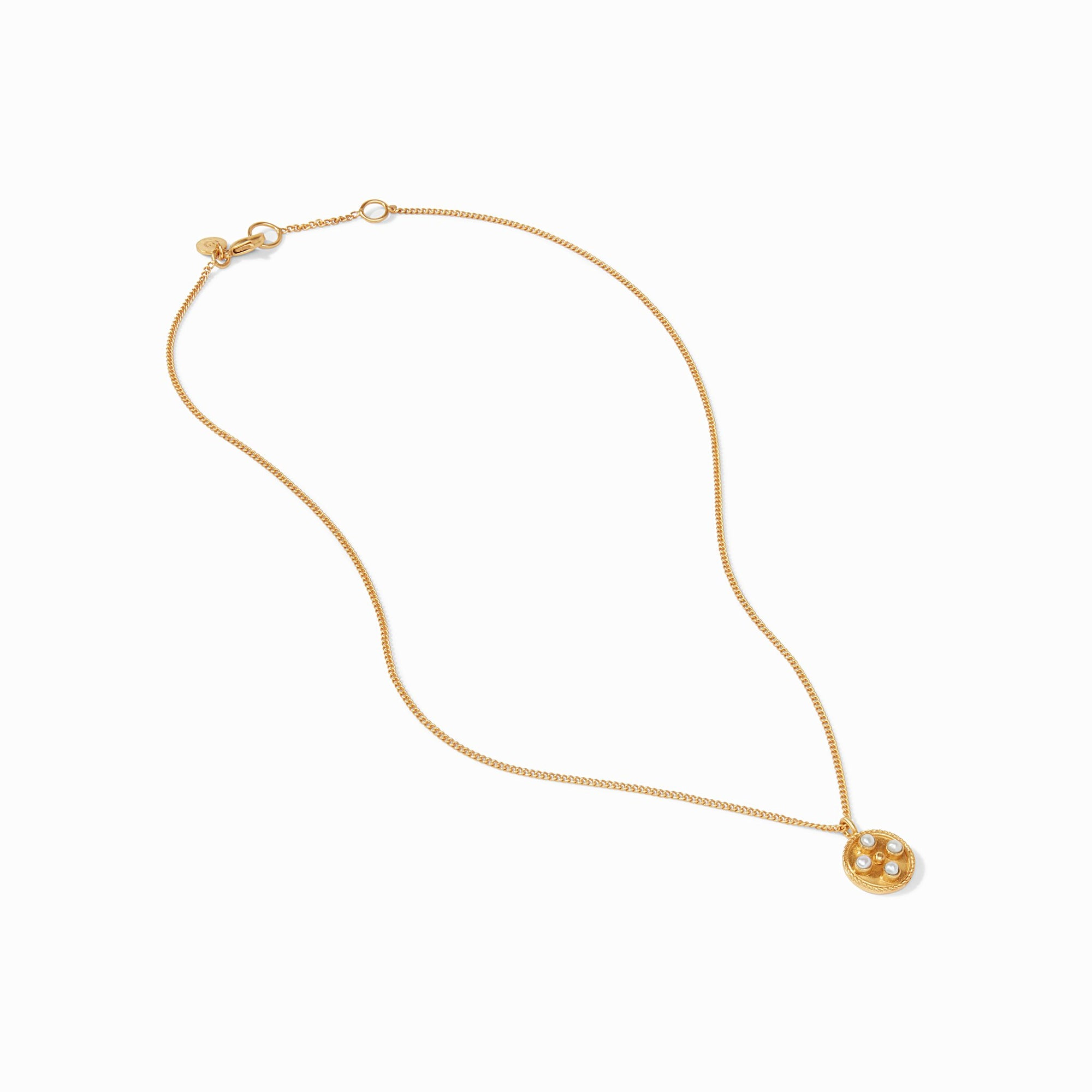 Julie Vos - Paris Delicate Necklace - Pearl