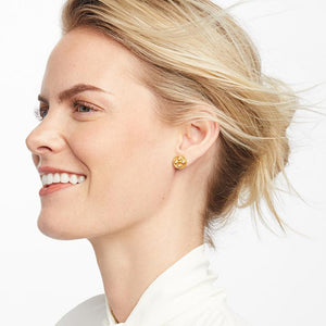 Julie Vos - Paris Stud Earrings - Pearl