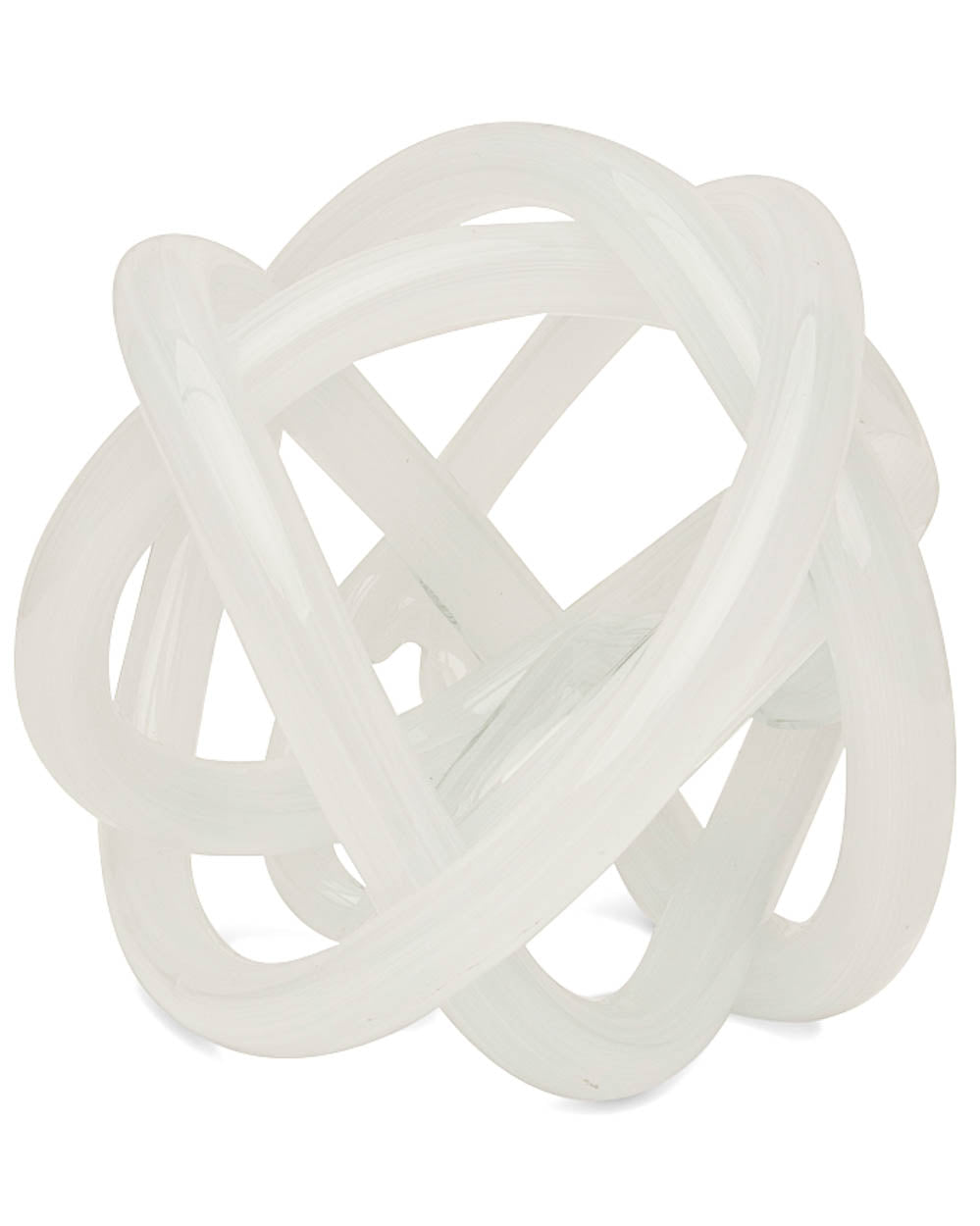 Tizo - Glass Knot - White