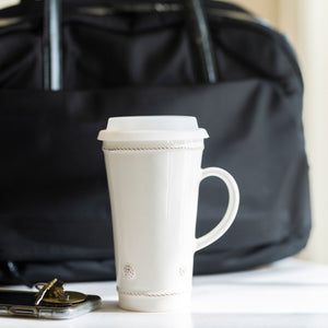 Juliska -  Berry & Thread Whitewash Tall Travel Mug