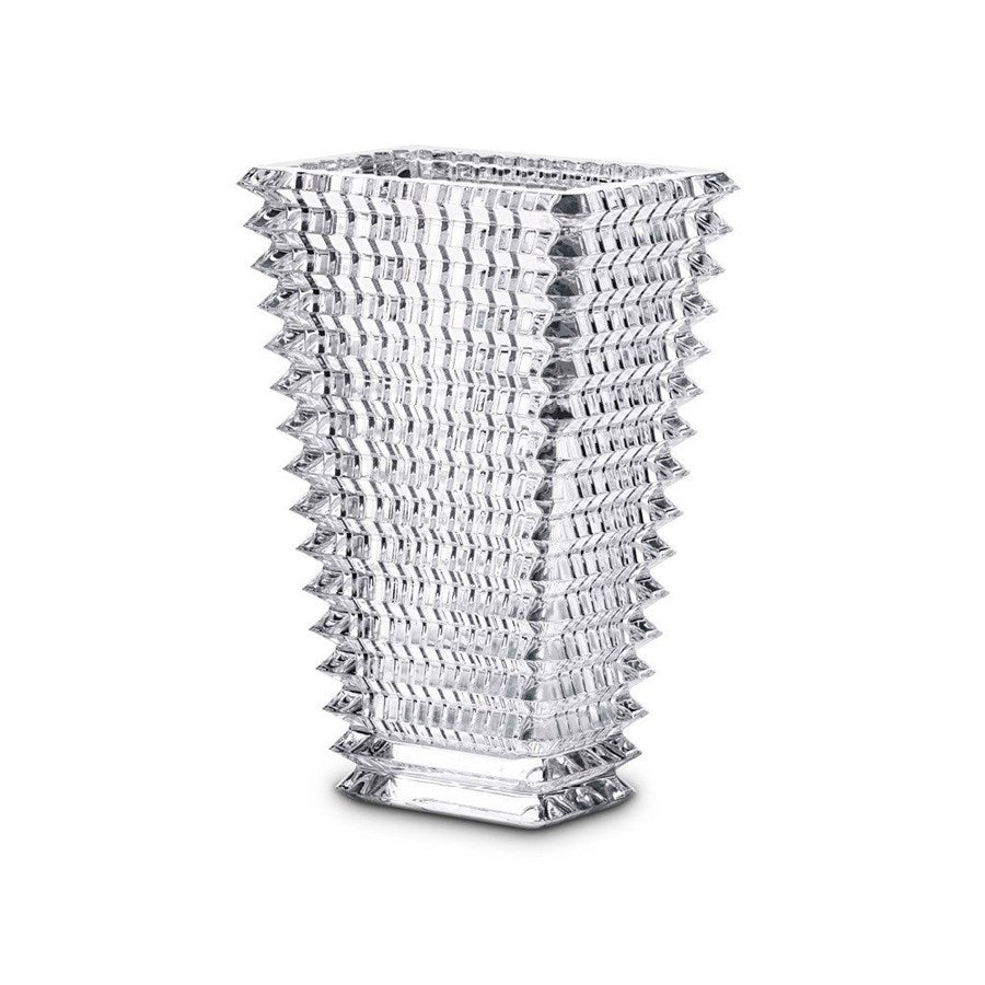 Baccarat - Eye Vase -  Rectangular Clear Vase - Multiple Sizes