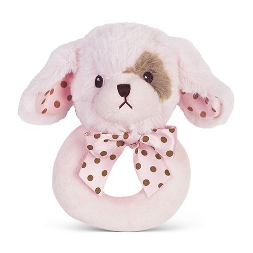 Bearington Baby - Pink Lil' Wiggles Ring Rattle