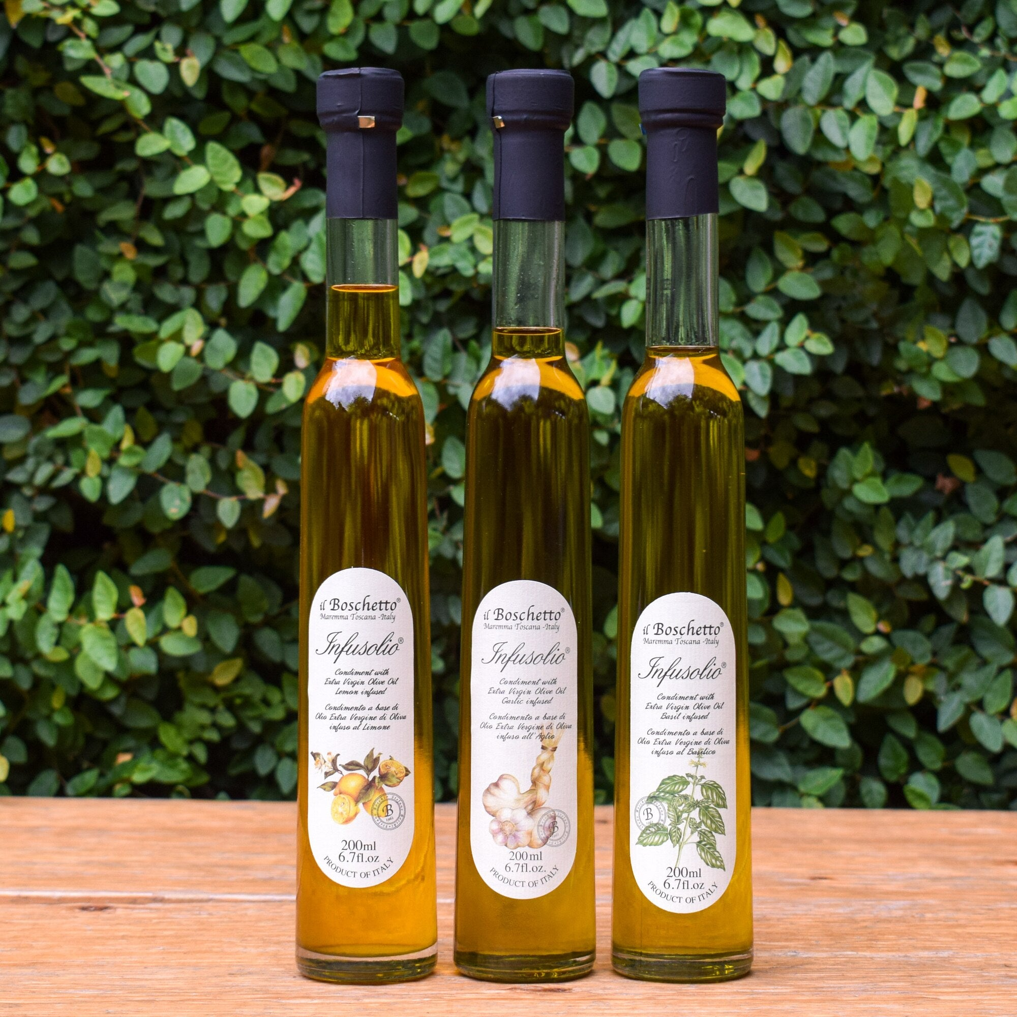 The French Farm - Il Boschetto Basil Infused Extra Virgin Olive Oil