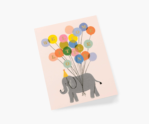 Rifle Paper Co. - Welcome Elephant Card