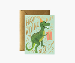 Rifle Paper Co. - Dino-mite Birthday Card