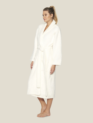 Barefoot Dreams - Cozychic Adult Robe - Pearl - Size 1