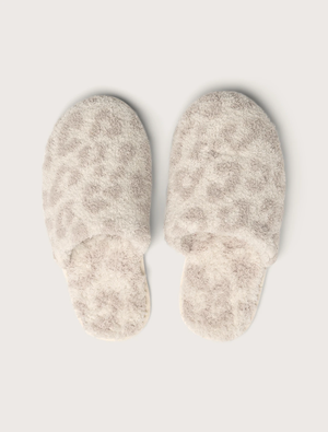 Barefoot Dreams - CozyChic® Barefoot In The Wild Slipper in Cream/Stone - Multiple Sizes
