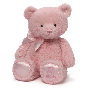 "Gund - Pink Rose - My 1st Teddy Bear 15"" - Pink"