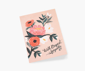 Rifle Paper Co. - With Deepest Sympathy Card