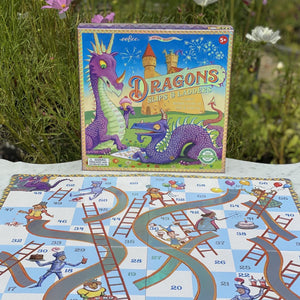 Eeboo - Dragons Slips and Board Game