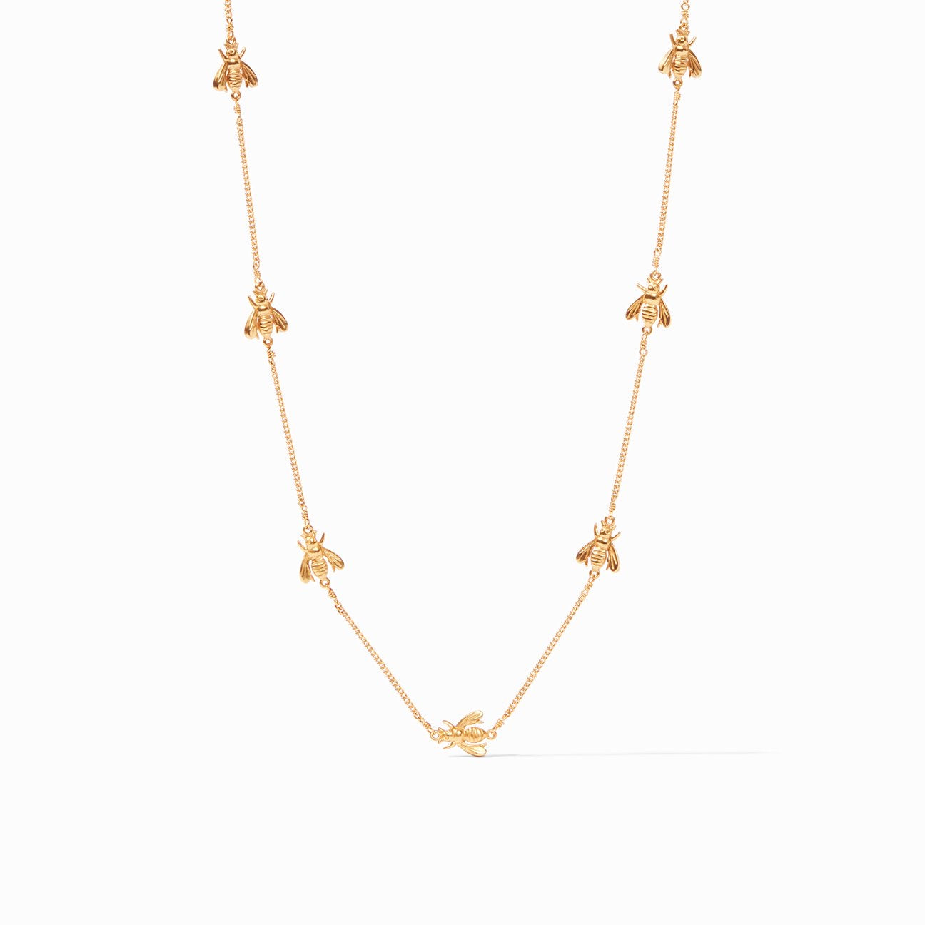 Julie Vos - Bee Delicate Necklace Gold