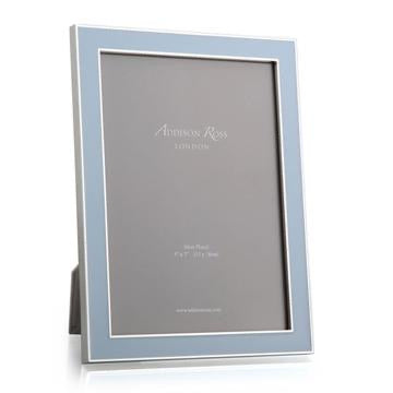 Addison Ross - Frame - Powder Blue Enamel & Silver