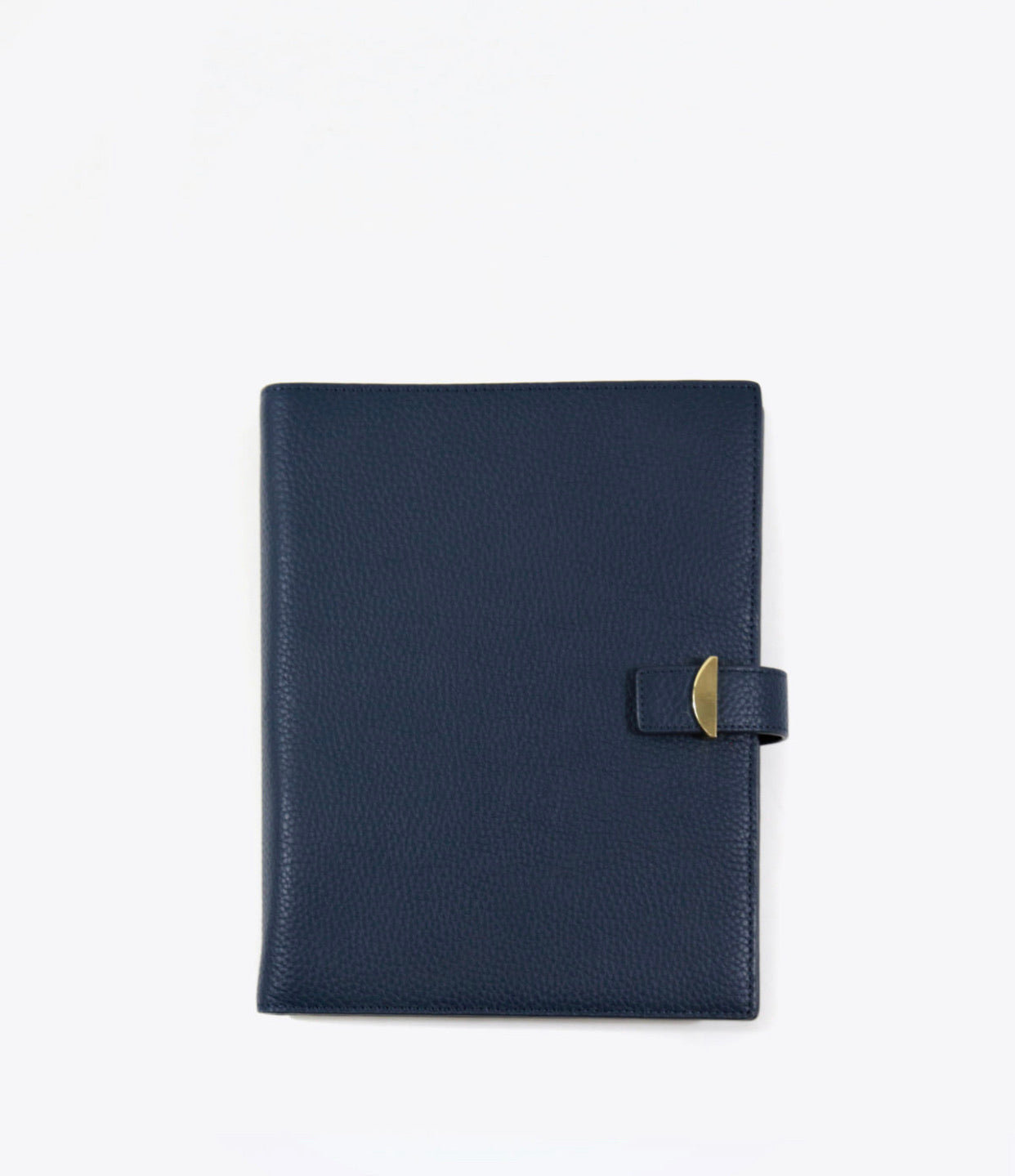 Neely & Chloe - No. 39 The Passport Cover Saffiano - Navy