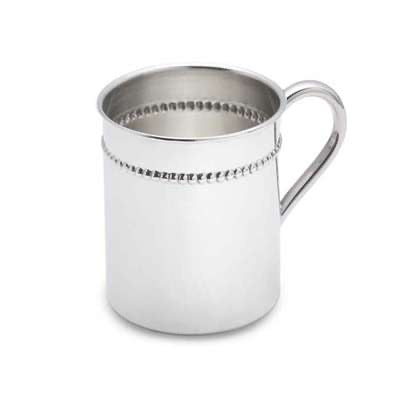 Reed & Barton - Classic Bead Baby Cup