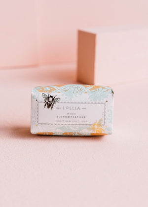 Lollia - Wish Shea Butter Soap