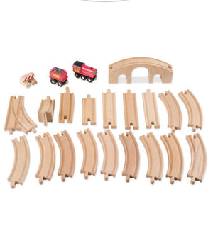 Melissa & Doug - Figure 8 Train Set