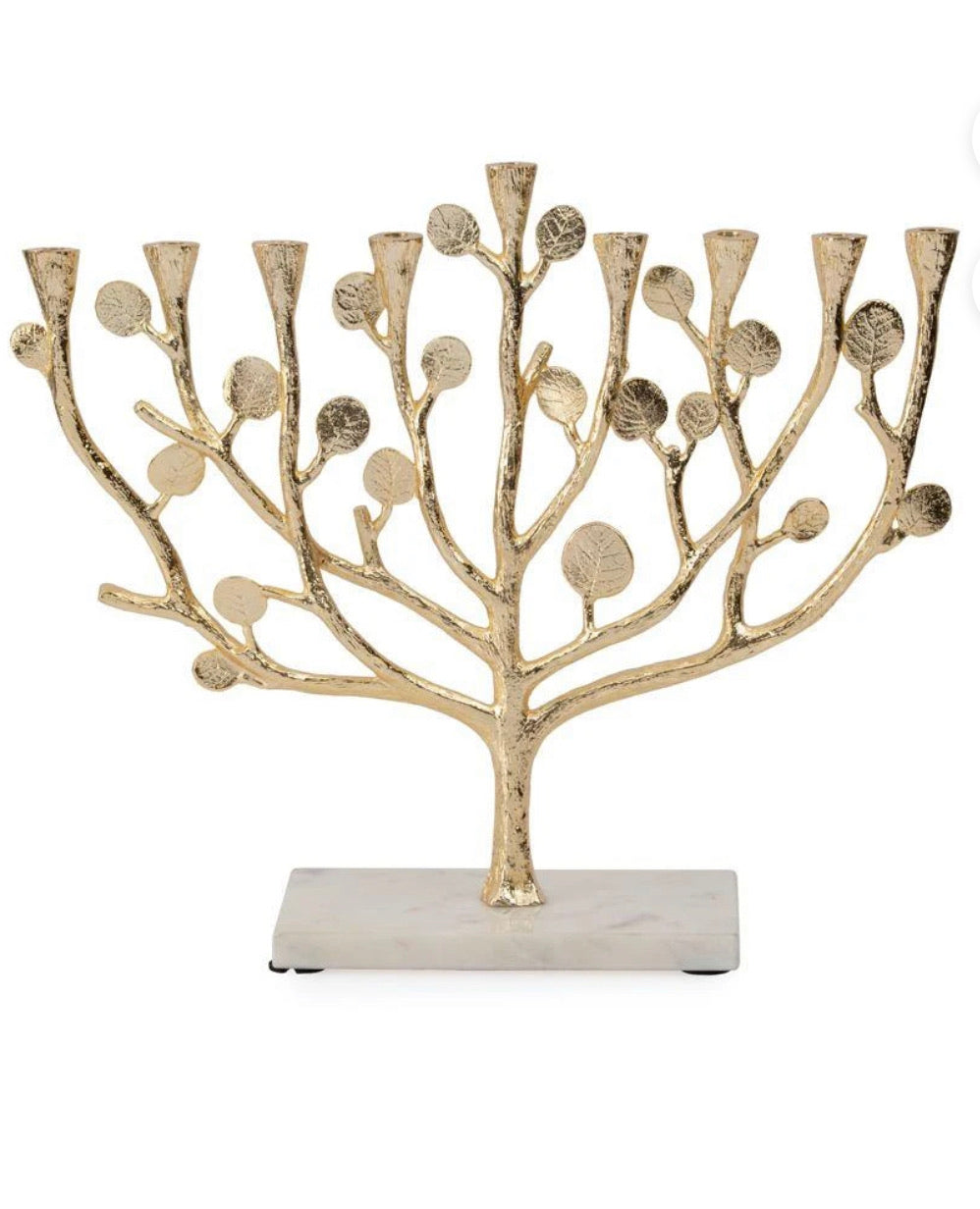 Michael Aram - Botanical Leaf Gold Menorah