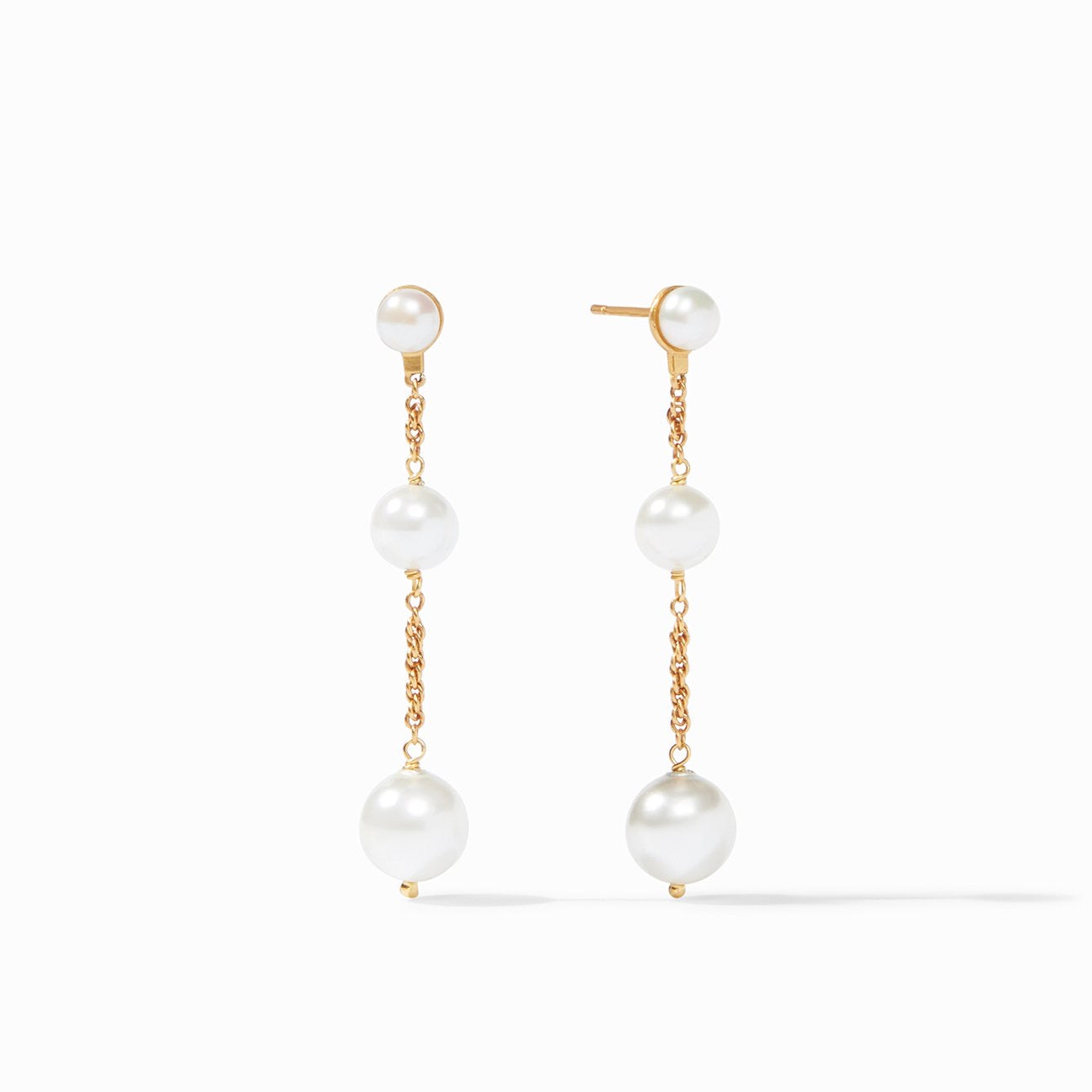 Julie Vos - Cascade Pearl Earrings