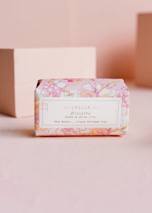 Lollia - Breathe Shea Butter Soap