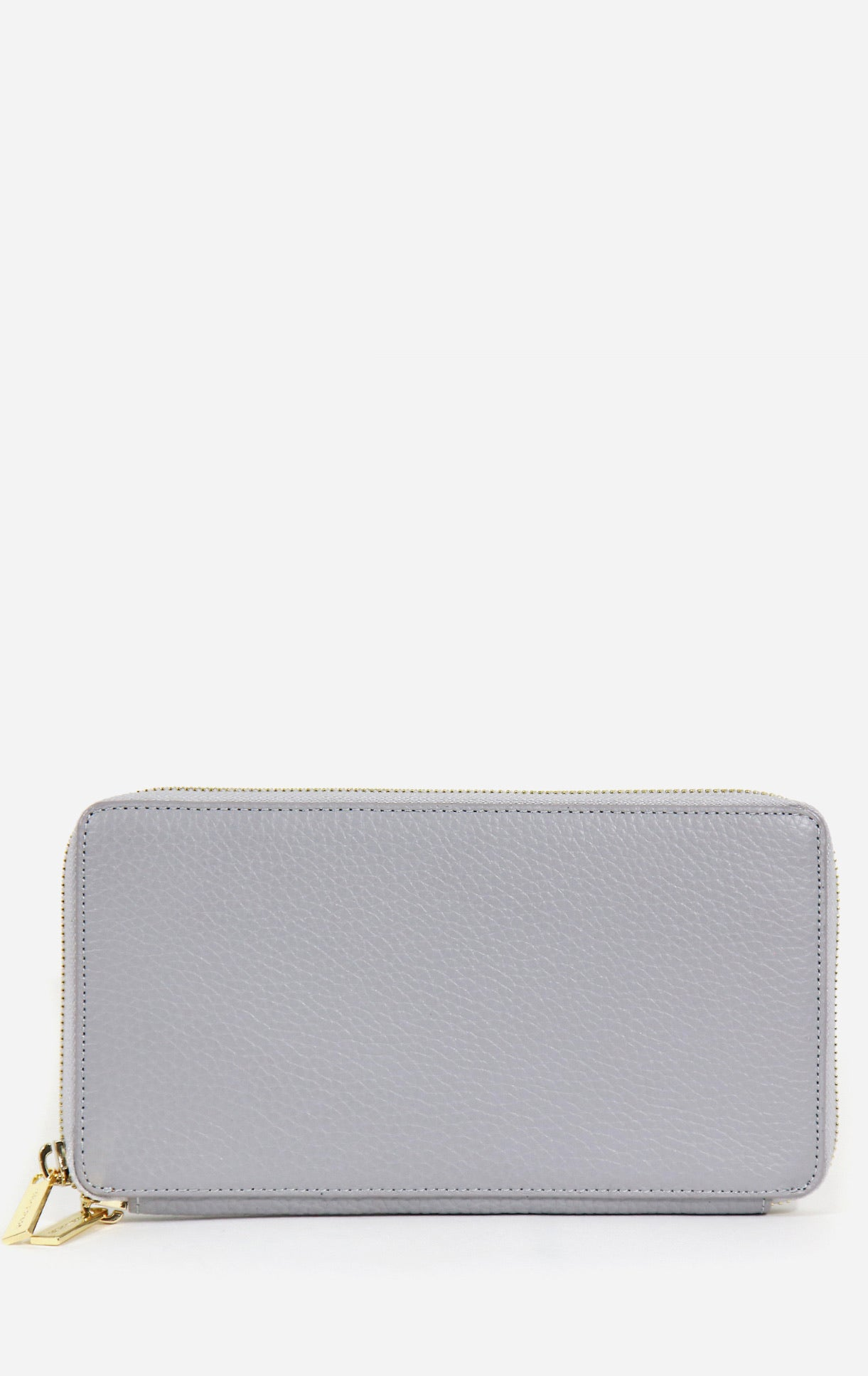 Neely & Chloe - No. 48 The Zip Wallet Pebble - Stone