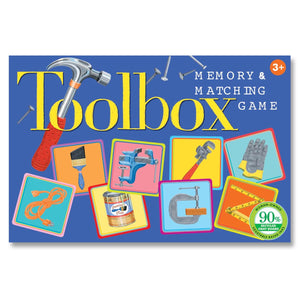 Eeboo - Toolbox Little Matching Game