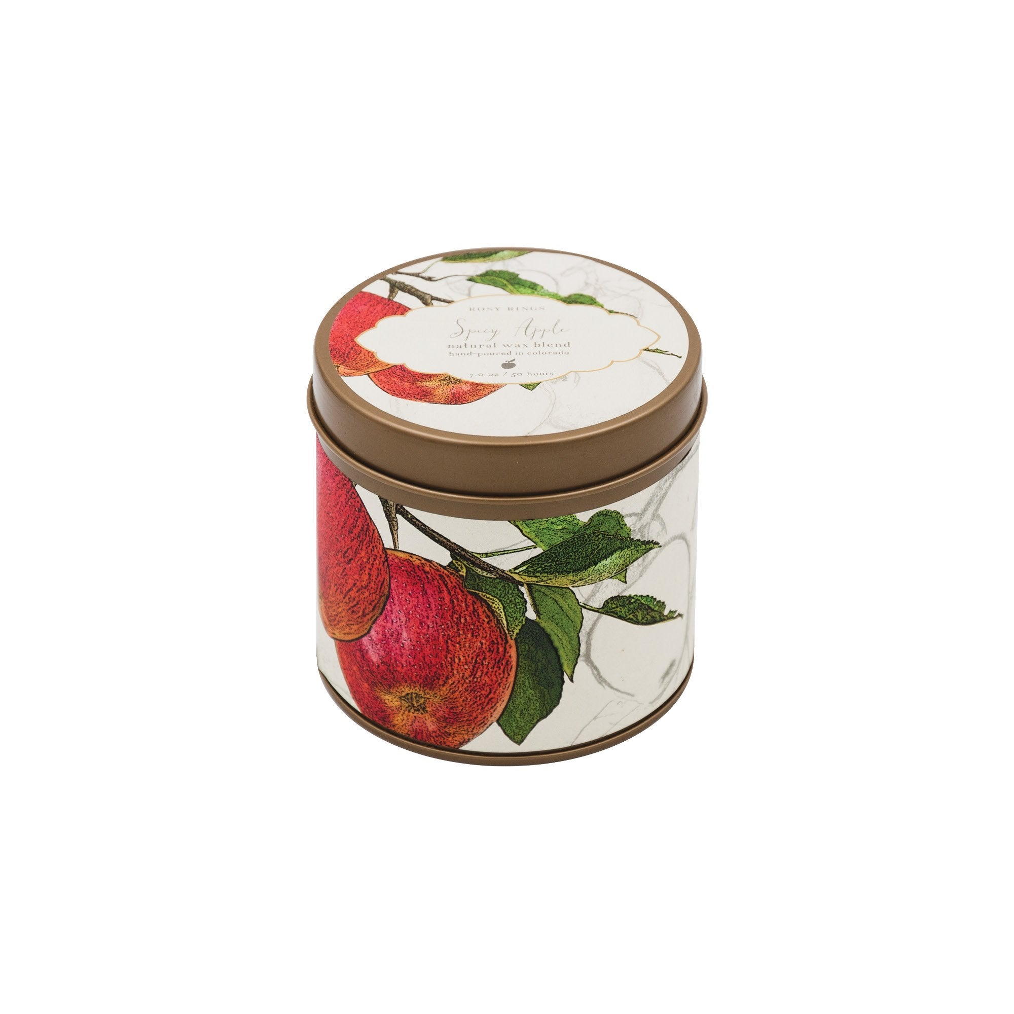 Rosy Rings - Spicy Apple Tin