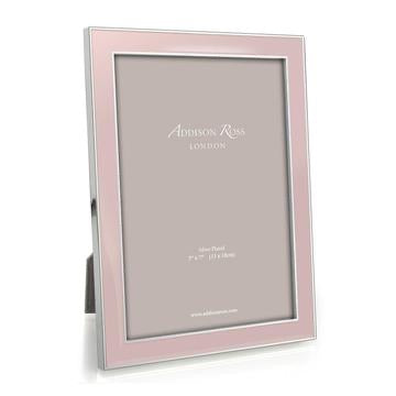 Addison Ross - Frame - Light Pink Enamel & Silver