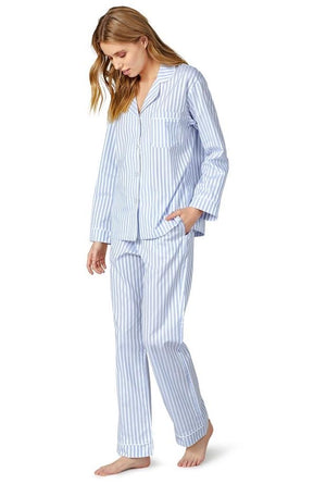 BedHead Pajamas - 3D Stripe Long Sleeve Classic PJ Set