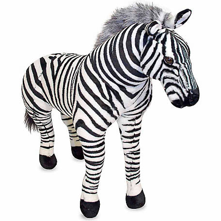 Melissa & Doug - Zebra Giant Stuffed Animal