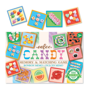 Eeboo - Candy Little Matching Game