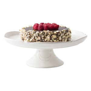 "Juliska - Berry & Thread Whitewash 14"" Cake Stand"