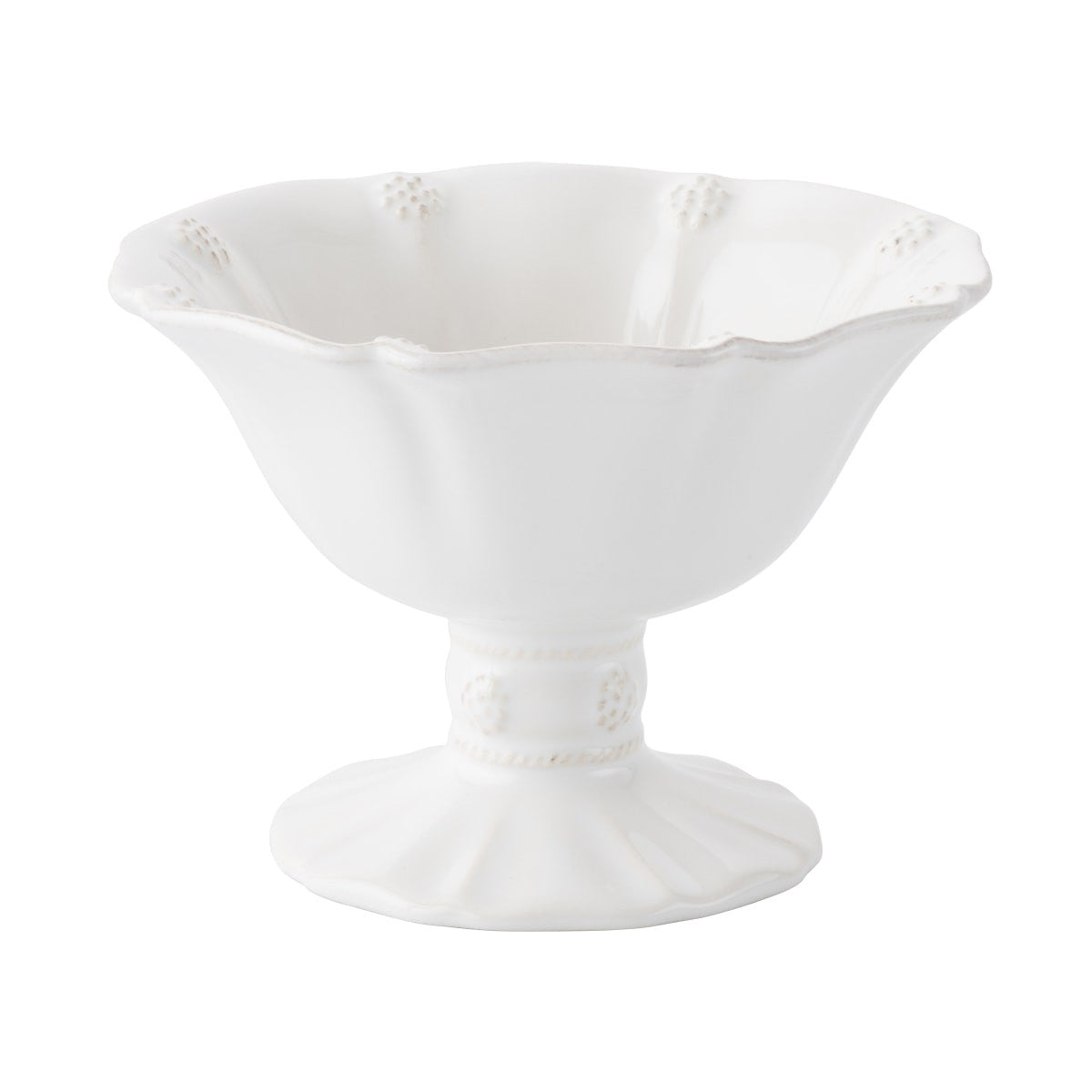 "Juliska - Berry & Thread Whitewash 5.5"" Footed Compote"