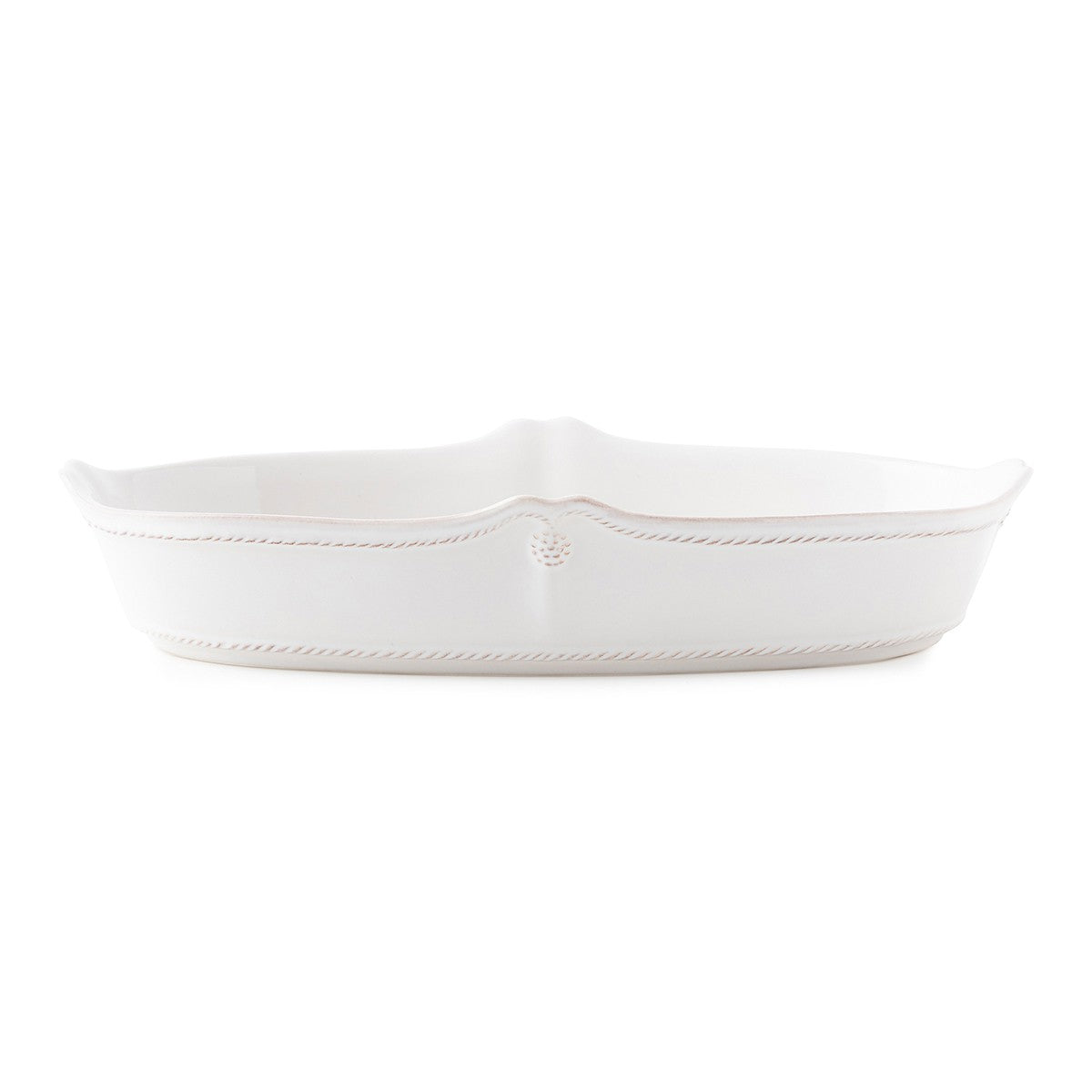"Juliska - Berry & Thread Whitewash 12"" Oblong Serving Dish"