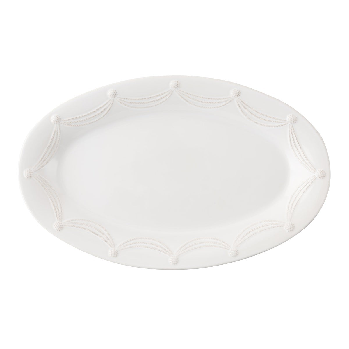"Juliska - Berry & Thread Whitewash 22.5"" Oval Platter"