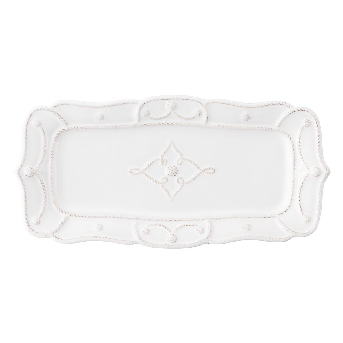 Juliska - Jardins du Monde Whitewash Hostess Tray