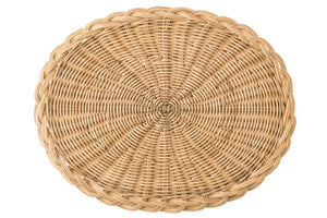Juliska - Braided Basket Oval Natural Placemat