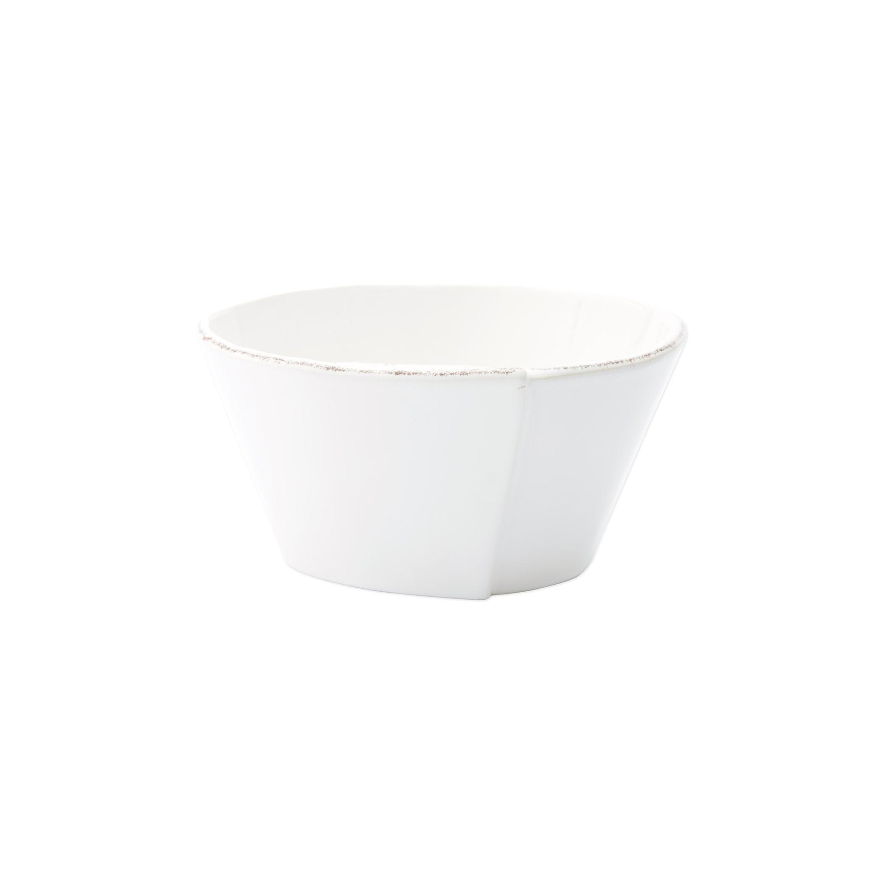 Vietri - Lastra Stacking Cereal Bowl - White