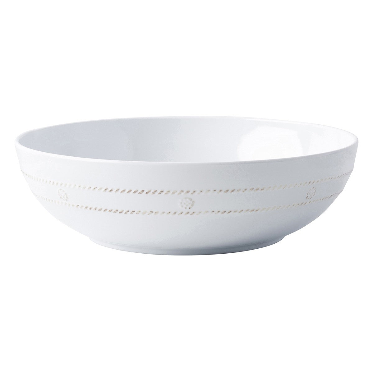 "Juliska - Berry & Thread Melamine Whitewash 12"" Bowl"