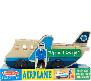 Melissa & Doug - Wooden Airplane