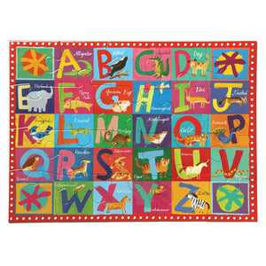 Eeboo - Puzzle 20 Piece Animal Alphabet