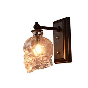 Retro Skull Wall Lamp