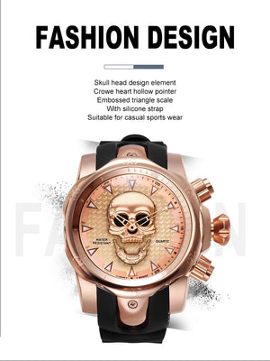 BIG SKULL WATCH
