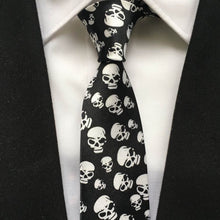 Load image into Gallery viewer, Scary Skulls Tie