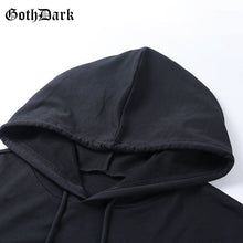Load image into Gallery viewer, Goth Dark Hoodie
