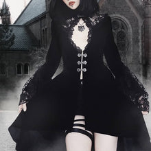 Load image into Gallery viewer, Vintage Goth Dress