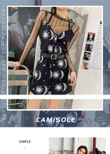Load image into Gallery viewer, Vintage Black Moon Dress
